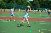 Northcote dodgeball throw