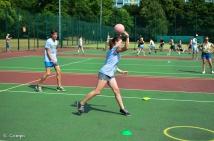 Northcote dodgeball throw
