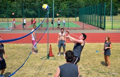 Super team volleyball