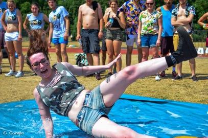Water slide Alex lady #2