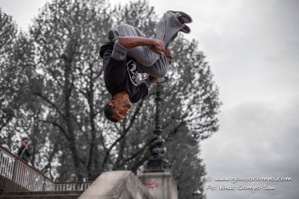 Beau flip from below