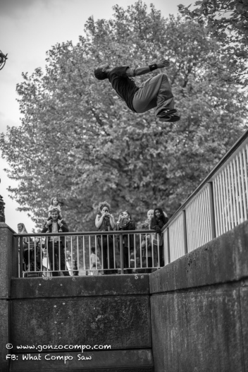 Beau highboard backflip #1