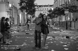 Notting Hill couple